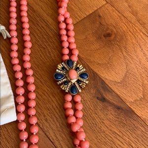 J. Crew Jewelry - J. Crew coral necklace
